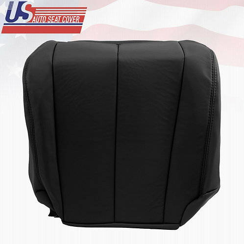 2003-2007 Passenger Bottom Leather Seat Cover Fits Nissan Murano Black