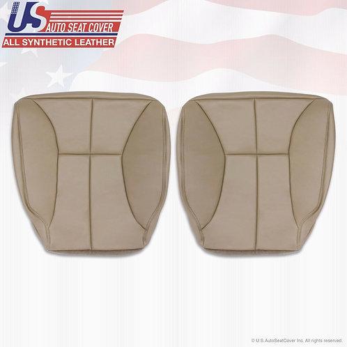 1997-2002 Dodge Ram Driver Passenger Bottom Vinyl Seat Cover Tan