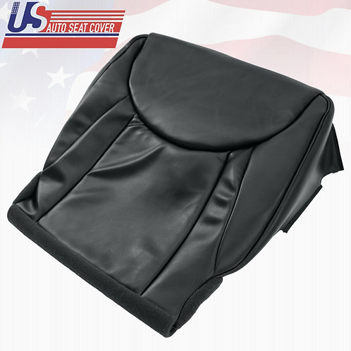2001-2006 Lexus LS430 Passenger Bottom Leather Replacement Seat Cover Black