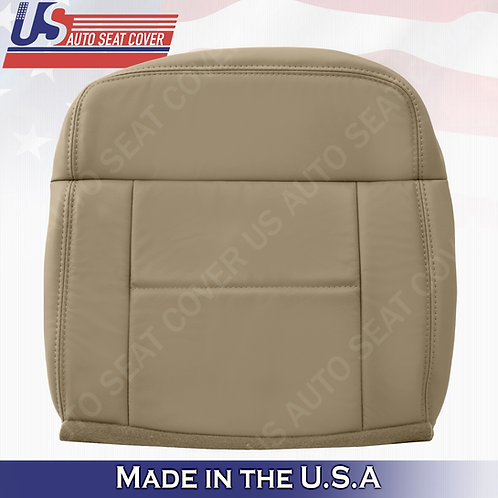 2004-2007 Ford F150 Lariat REAR Passenger Bottom Leather Tan Replacement