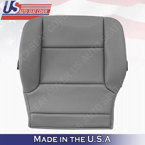 2014-2019 Chevy Silverado WT HD-Driver Side Bottom vinyl Seat Cover Gray
