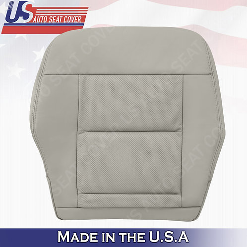 For 2010-2014 Mercedes Benz E350 Driver Bottom Perforated leather Cover Gray