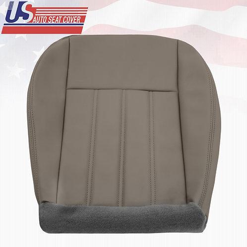 For 2005- 2010 Chrysler 200 300 Driver bottom Vinyl Seat Cover Gray