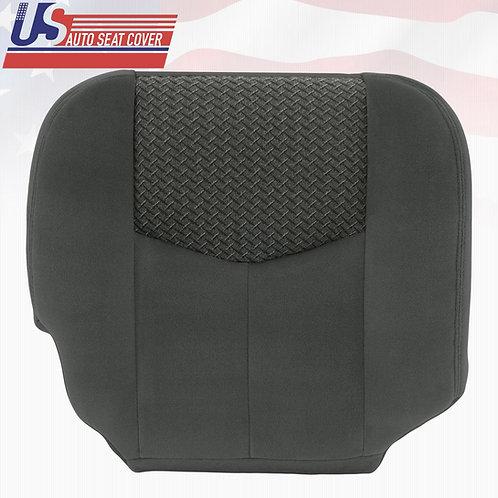 2003 2004 Chevy Avalanche Passenger Bottom Cloth Seat Cover Dark Gray