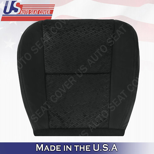 2007 2008 GMC Sierra Driver Bottom Cloth Replacement cover Black