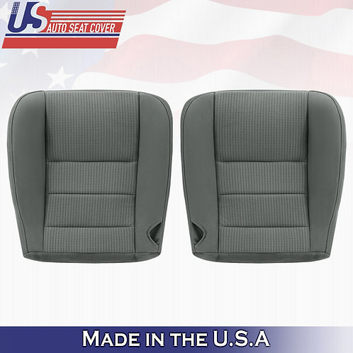 """2008 TO 2010 Ford F250 F350 F450 DRIVER & PASSENGER Bottom Cloth Cover """"GRAY"""""""