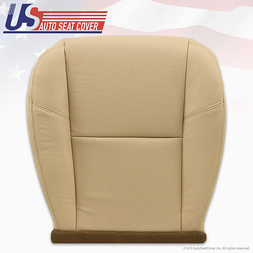 2009 to 2014 Chevy Avalanche LTZ driver Bottom Perforated Leather seat cover