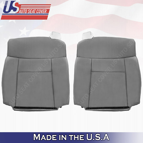 2004-2008 Ford F-150 Driver & Passenger Top Cloth Seat Cover in Gray
