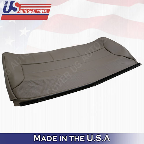 1992-1996 Ford Bronco Eddie Bauer Rear Bench Top Synth Leather Cover Mocha Tan
