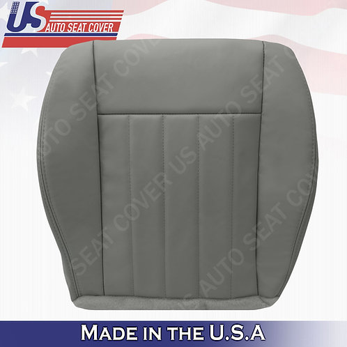 2005 2006 2007 Jeep Liberty Driver Bottom Leather Seat Cover Gray