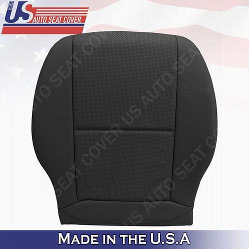 Fits 2008-2014 Mercedes Benz C250 SPORT Passenger Bottom Leather Cover Black