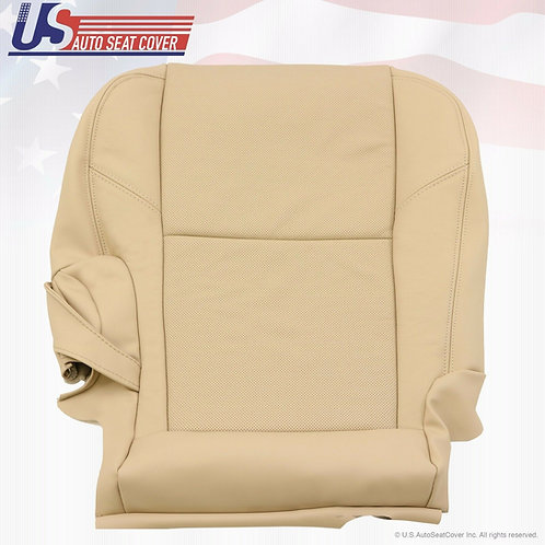 2007-2014 Cadillac Escalade 2nd Row Passenger Side Bottom Leather Seat Cover TAN