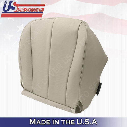 For 2007-2011 Toyota Camry Driver Bottom Synth. Leather Seat Cover Tan