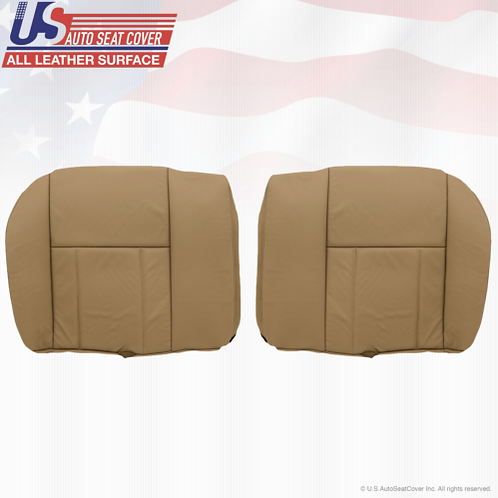Fit 1996-2002 Toyota 4Runner REAR Bottoms Leather Seat Cover Oak Tan
