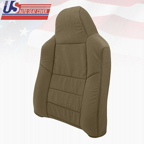 2008-2010 Ford F250 XLT Passenger TOP Cloth Seat Cover replacement in 2tone Tan