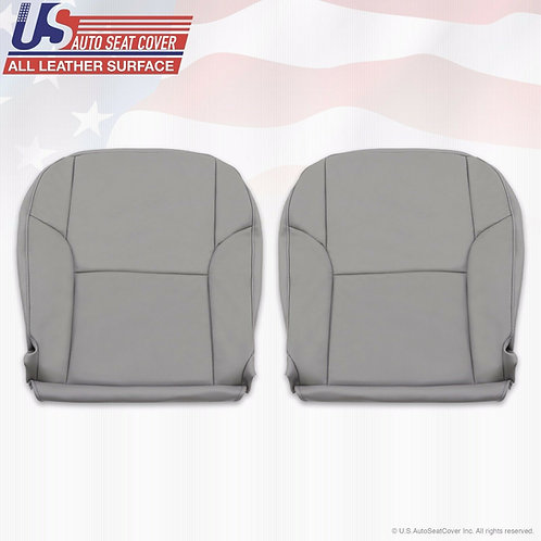 2003- 2009 Toyota 4Runner Driver-Passenger Bottom leather Gray seat cover