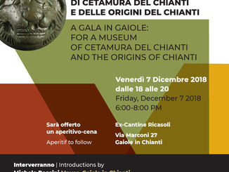 Un aperi-cena per sponsorizzare la nascita di un nuovo museo che ospiterà il tesoro in fondo a un po