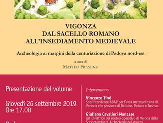 Storia del paesaggio e dell'economia di un piccolo borgo alle porte di Padova (dall'età del