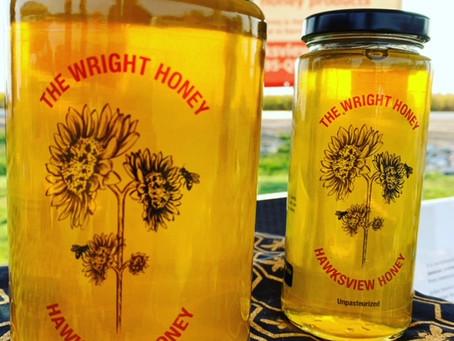 The Wright Honey is Hawksview Honey