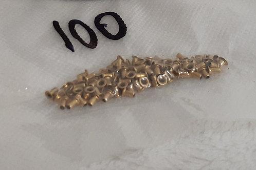 Brass Eyelets - pk 100