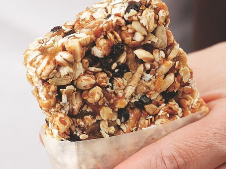 Friday - Recipe - Whole Grain Fiber Bar