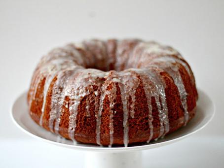Honey & Orange Olive Oil Cake
