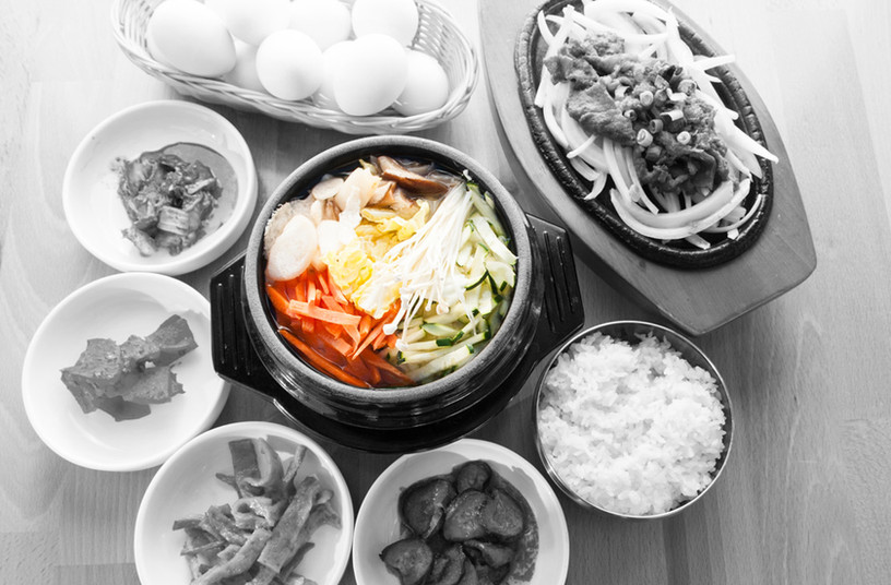 Vegetable tofu & Bulgogi
