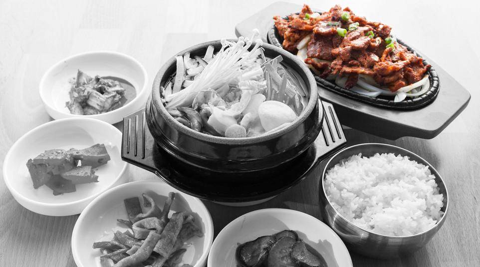 Spicy pork & Vegetable tofu