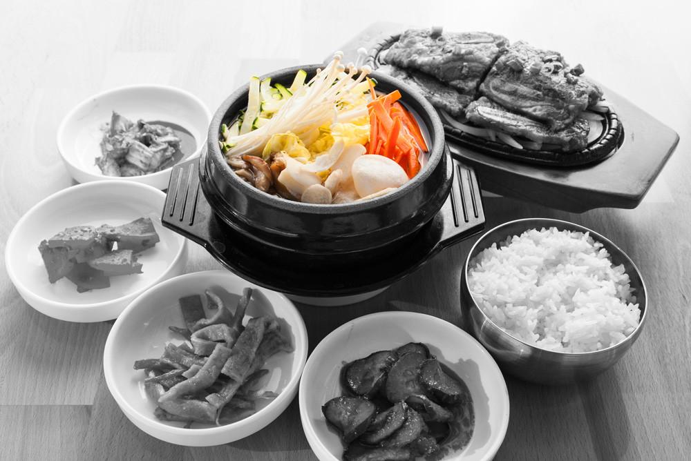 Vegetable tofu & Galbi