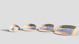 Designs of seat platforms for Body-Moji