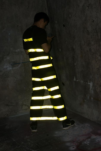 Safety Overalls (stripes)
