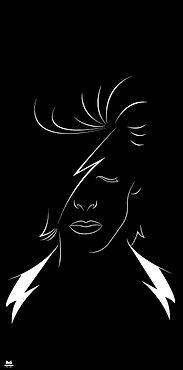 Cadre david Bowie