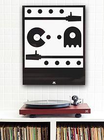 cadre vinyle et gainsbourg