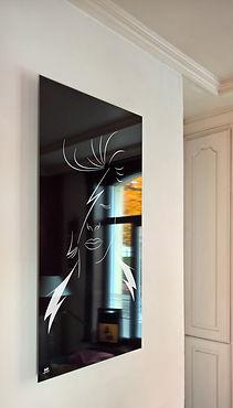 cadre david bowie salon