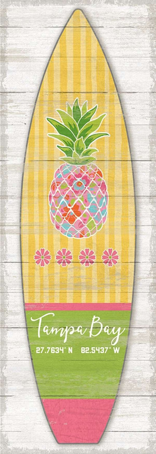 Surfboard Vertical Pineapple - 660