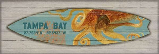 Octopus Surfboard - 649