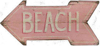 Pink Beach Arrow - 1001