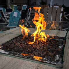 Balcony Fire Pit Table