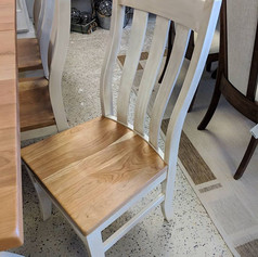 Rustic Cherry/Maple Side Chair