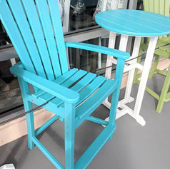 Balcony Bistro Aruba Blue