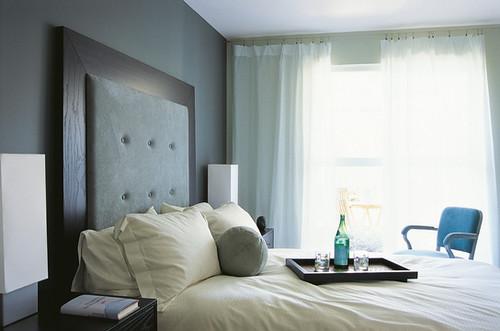 ブティックホテルのベッドルーム