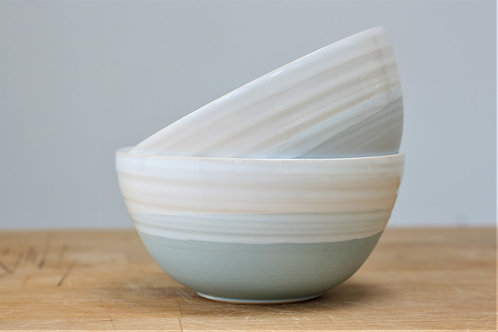 Two-Tone Bowl by Justine Jenner