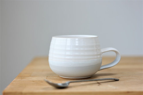 Two-Tone Coffee Cup by Justine Jenner Pottery