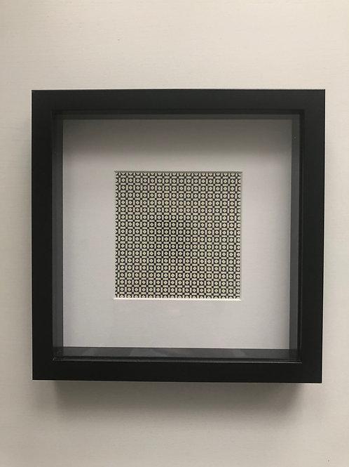 Geometric Wall Art Black and Cream