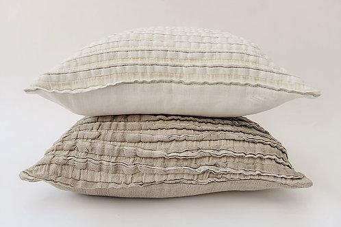 True Linen Frill Cushion Cover