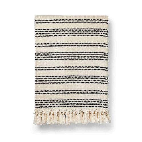 Hilmi Artisan Cotton Blanket from Luks Linen