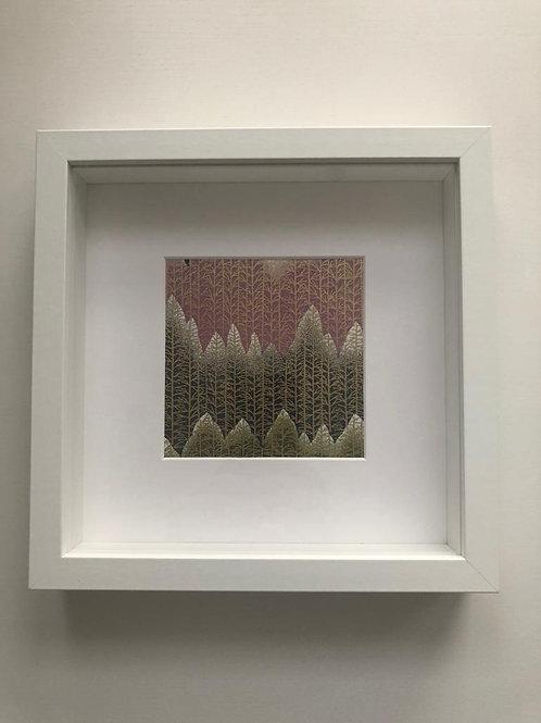 Textured Mountain Wall Art 02