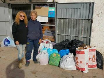 """Nueva donación al Refugio """"La amistad"""""""