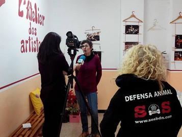 TV Badalona entrevista a SOS BDN