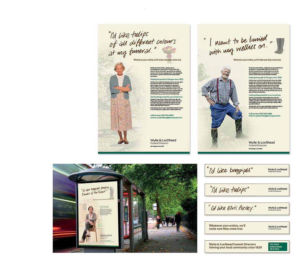 Creative, Agency, design, Graphic design, Marketing, DM, Direct marketing, Kevan Kelsey, Cirencester, Gloucestershire. LV=, LV. Over 50's life insurance. Golf. Co-op funeral care